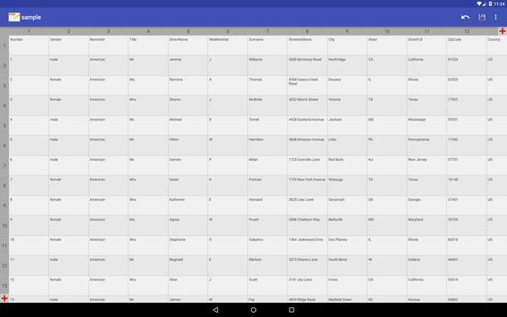 CSV Editor screenshot 5