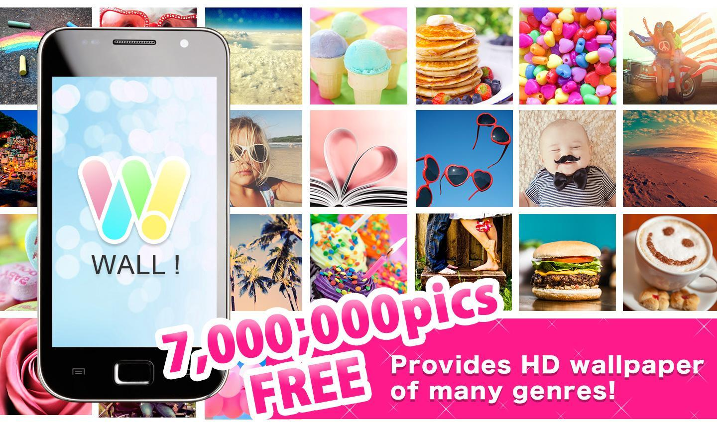 Android 用の 壁紙アプリwall 無料高画質 700万枚以上 Apk を