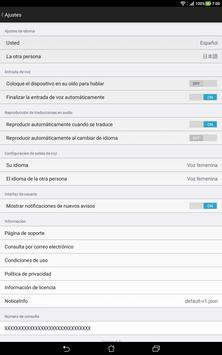 VoiceTra(Traductor de voz) captura de pantalla 5