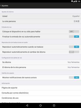 VoiceTra(Traductor de voz) captura de pantalla 8