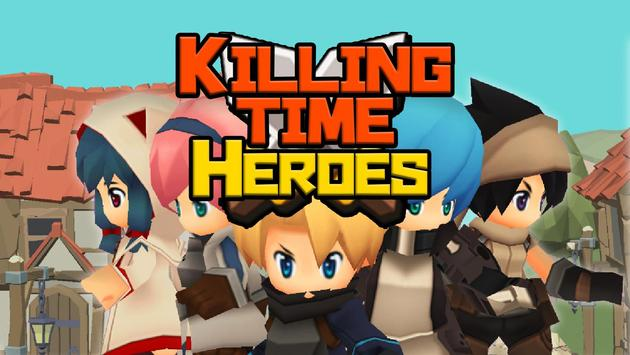 Killing Time Heroes  - The RPG - poster