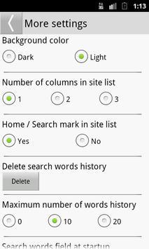 Search Selection screenshot 3