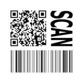 Barcode QR Code reader Price checker icon