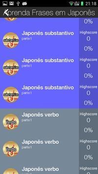 Aprenda Frases em Japonês screenshot 1