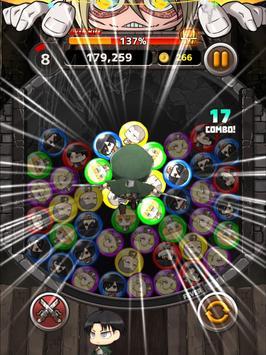 [公式]進撃の巨人 チェインパズルフィーバー screenshot 17