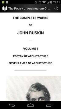 The Poetry of Architecture poster
