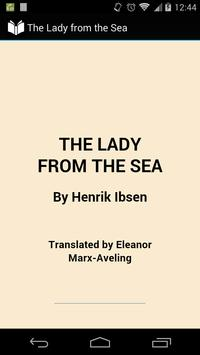 The Lady from the Sea poster