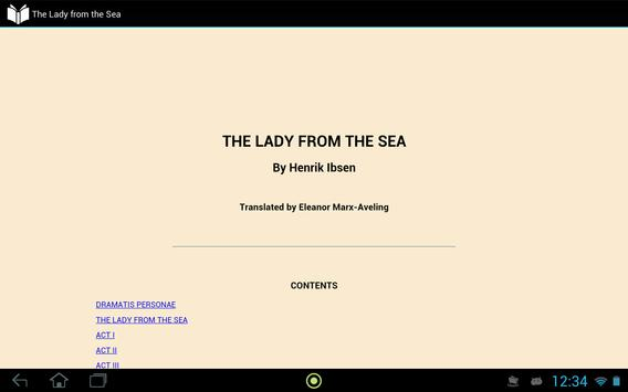 The Lady from the Sea screenshot 2