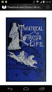 Theatrical and Circus Life poster