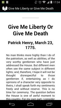 Give Me Liberty or Death poster