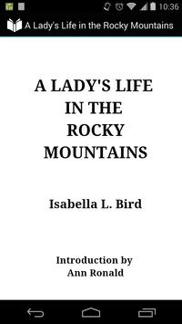 Lady's Life in Rocky Mountains poster