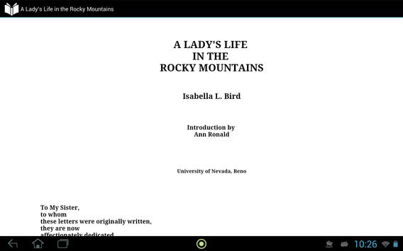 Lady's Life in Rocky Mountains screenshot 2