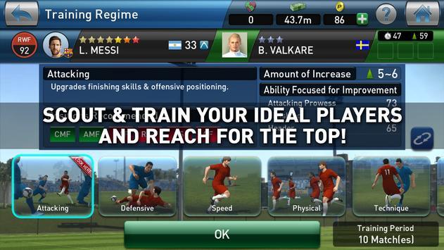 PES CLUB MANAGER screenshot 3