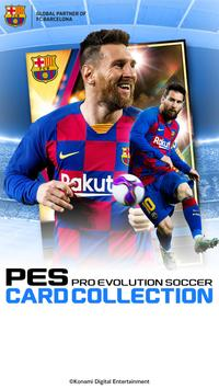 PES CARD COLLECTION poster
