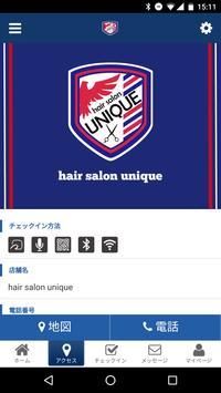 hair salon unique screenshot 3