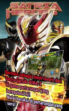 SATRIA HEROES poster
