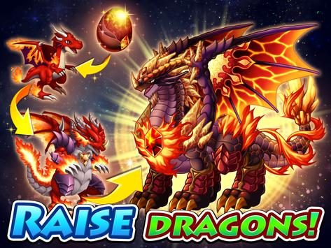 Dragon x Dragon -City Sim Game पोस्टर