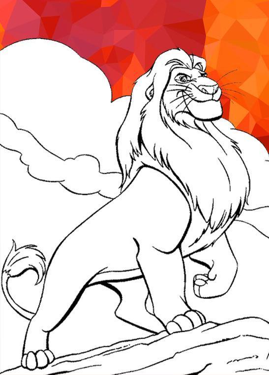 Livre De Coloriage Le Roi Lion Pour Android Telechargez L Apk