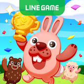 LINE Pokopang - POKOTA's puzzle swiping game! ícone