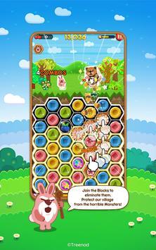 LINE Pokopang - POKOTA's puzzle swiping game! imagem de tela 10