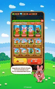 LINE Pokopang - POKOTA's puzzle swiping game! imagem de tela 9