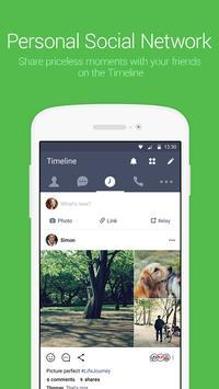 LINE(ライン) - 無料通話・メールアプリ スクリーンショット 4