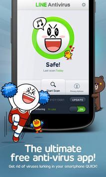 LINE Antivirus poster