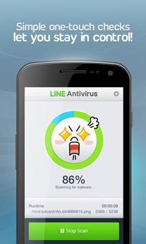 LINE Antivirus Ekran Görüntüsü 1