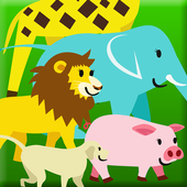 Touch and walk! Animal Parade icon