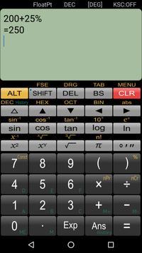حاسبة علمية Panecal تصوير الشاشة 4