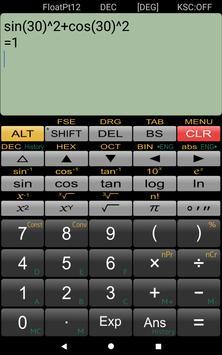 Wissenschaftlicher Rechner Panecal Screenshot 1