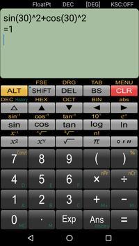 Wissenschaftlicher Rechner Panecal Screenshot 4