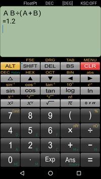 حاسبة علمية Panecal تصوير الشاشة 3