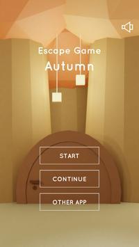 Escape Game Autumn plakat
