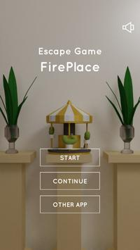 Escape Game Fireplace plakat