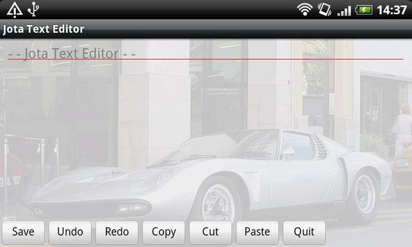 Jota Text Editor screenshot 6