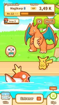 Pokémon: Magikarp Jump captura de pantalla 4
