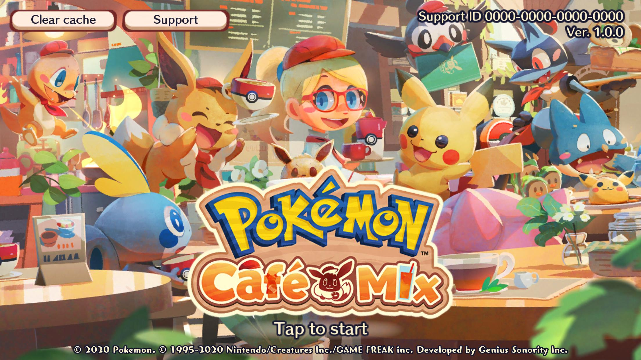 Pokemon Cafe Mix For Android Apk Download