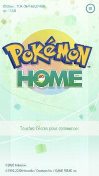 Pokémon HOME Affiche