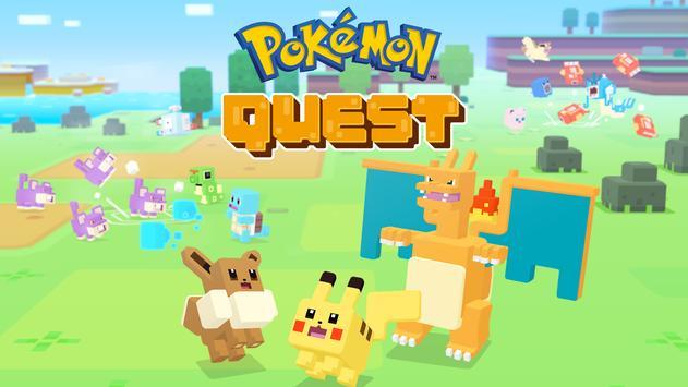 Pokémon Quest постер