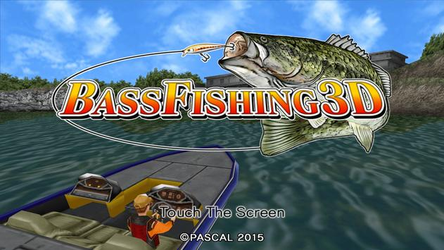 Bass Fishing 3D Free poster