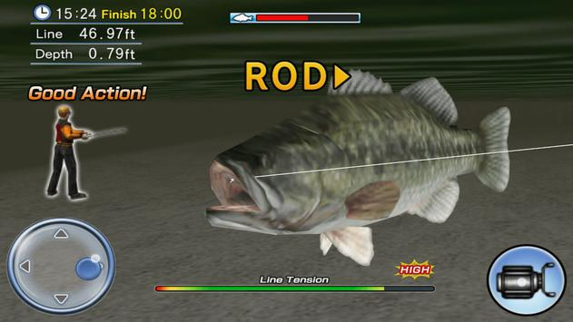 Bass Fishing 3D Free screenshot 13