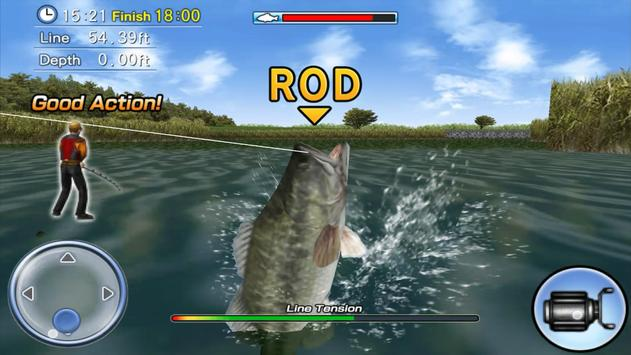 Bass Fishing 3D Free screenshot 14