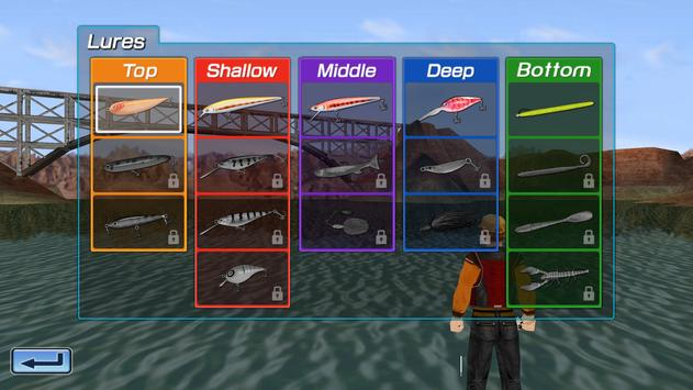 Bass Fishing 3D Free screenshot 2