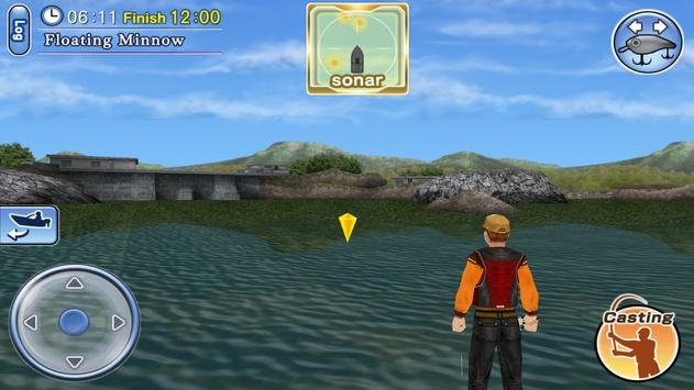 Bass Fishing 3D Free screenshot 4