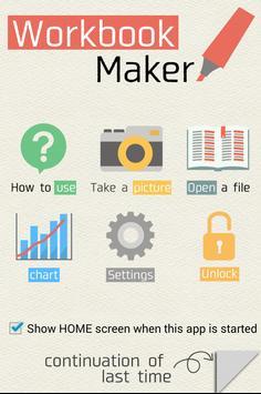 Workbook Maker poster