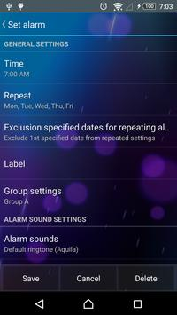 Smart Alarm Free screenshot 2