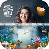 3D Water photo frame - Water photo editor icon