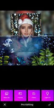 3D Water photo frame - Water photo editor poster