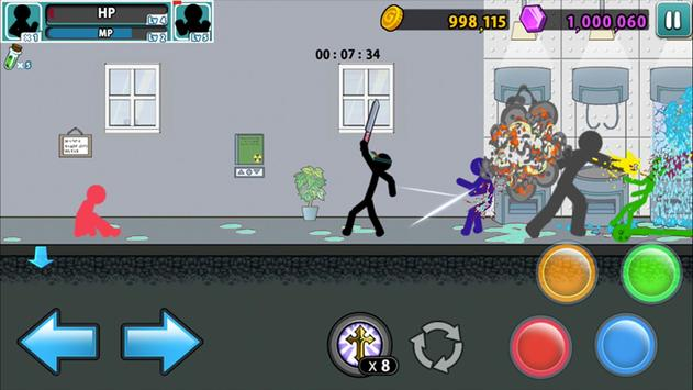 Anger of stick 5 : zombie screenshot 11